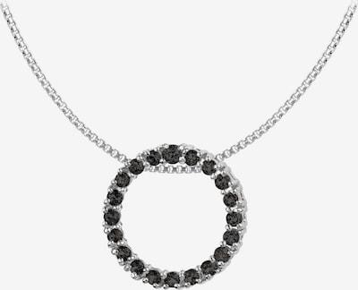 Jacques Lemans Kette in schwarz / silber, Produktansicht