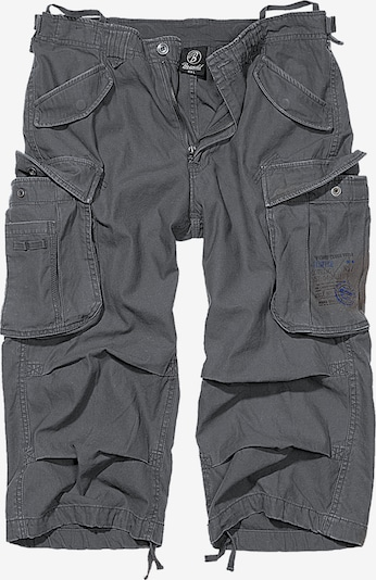 Brandit Hose in grau / schwarz, Produktansicht