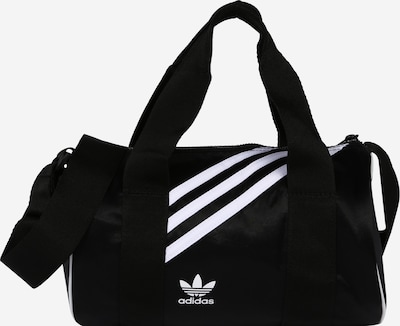 ADIDAS ORIGINALS Weekendtas in de kleur Zwart / Wit, Productweergave