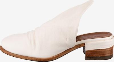A.S.98 Pantoletten in weiß, Produktansicht