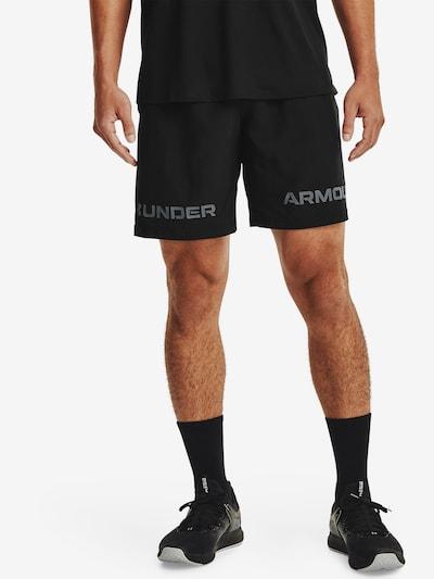 UNDER ARMOUR Športové nohavice - sivá / čierna, Model/-ka