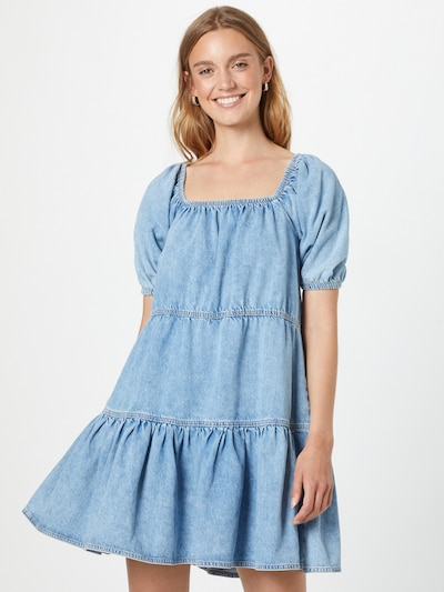 River Island Kleid in blue denim, Modelansicht