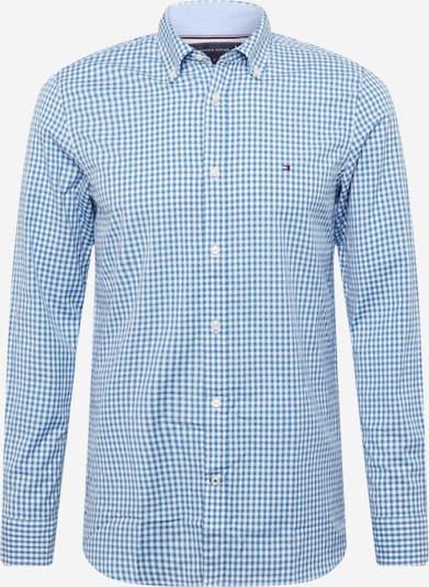 TOMMY HILFIGER Hemd in hellblau / weiß, Produktansicht