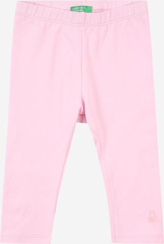 rozā UNITED COLORS OF BENETTON Legingi