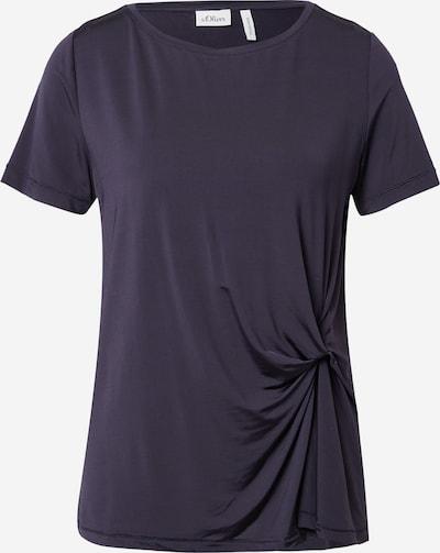 s.Oliver BLACK LABEL T-Shirt in navy, Produktansicht