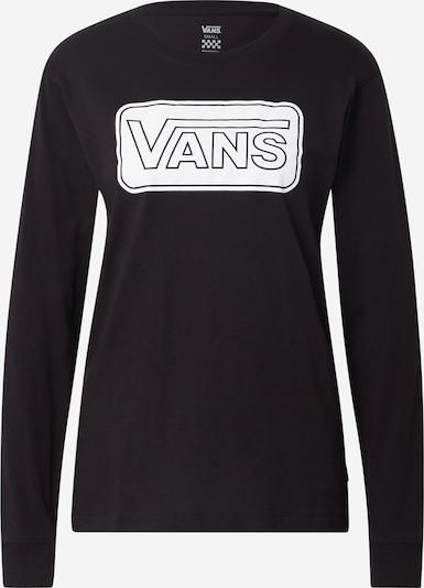VANS Sweatshirt 'Make me your own' in schwarz / weiß, Produktansicht