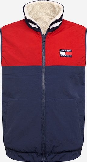 Tommy Jeans Bodywarmer in de kleur Donkerblauw / Rood / Wit, Productweergave