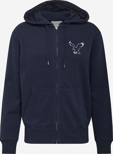 American Eagle Tepláková bunda 'INTERNATIONAL' - námornícka modrá, Produkt