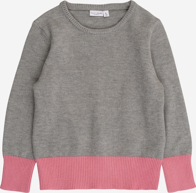 NAME IT Pullover 'VILIA' in graumeliert / rosé, Produktansicht