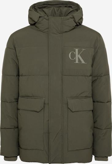 Calvin Klein Jeans Jacke in oliv, Produktansicht
