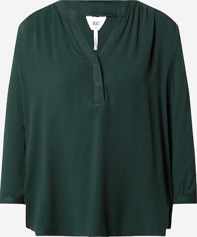 Bluză 'Baya' OBJECT pe verde închis, Vizualizare produs