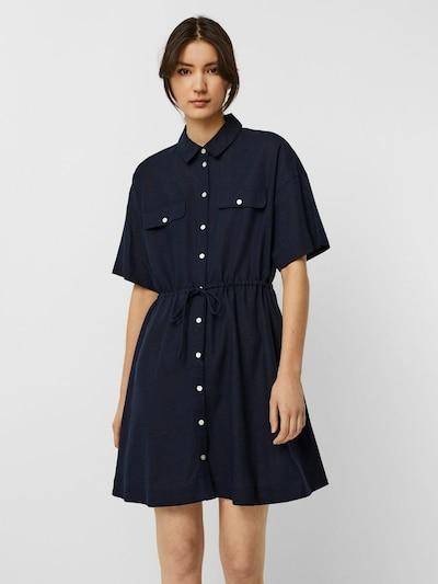VERO MODA Robe-chemise en bleu marine: Vue de face