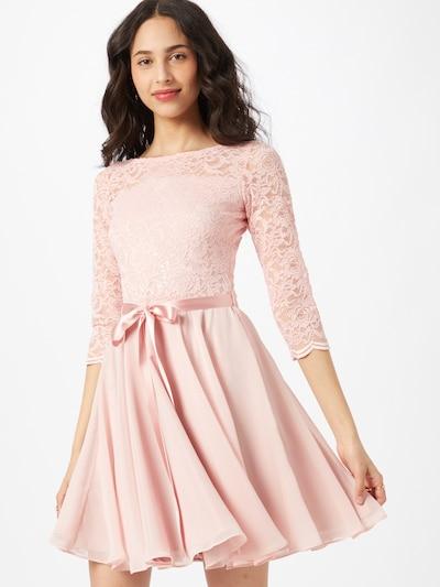 SWING Vestido de gala en rosa, Vista del modelo