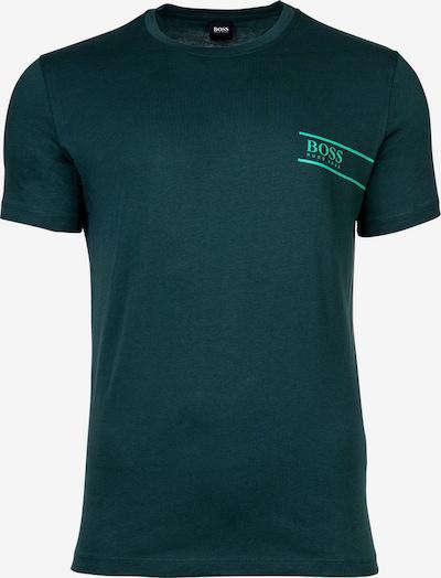 BOSS Casual T-Shirt in tanne / neongrün, Produktansicht