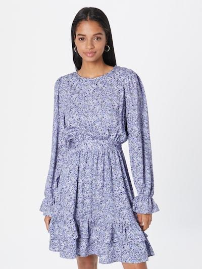 NU-IN Kleid in rauchblau / opal / taubenblau / weiß, Modelansicht