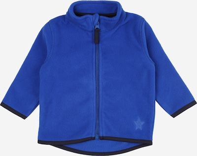 BLUE SEVEN Veste en polaire en bleu nuit / bleu roi, Vue avec produit