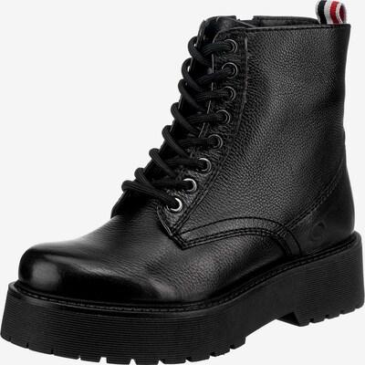 Paul Vesterbro Schnürstiefelette in schwarz, Produktansicht