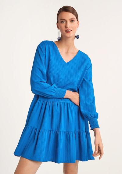 COMMA Kleid in blau, Modelansicht
