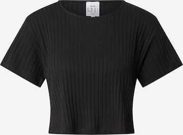 WEARKND T-Shirt 'Elisa' in Schwarz