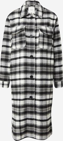 JDY Mantel 'UMALA' in schwarz / weiß, Produktansicht