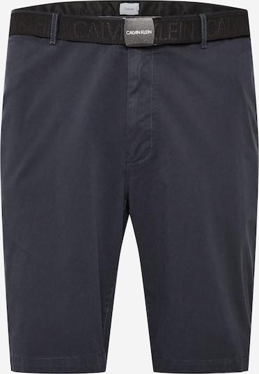 Calvin Klein Pantalon en bleu marine, Vue avec produit