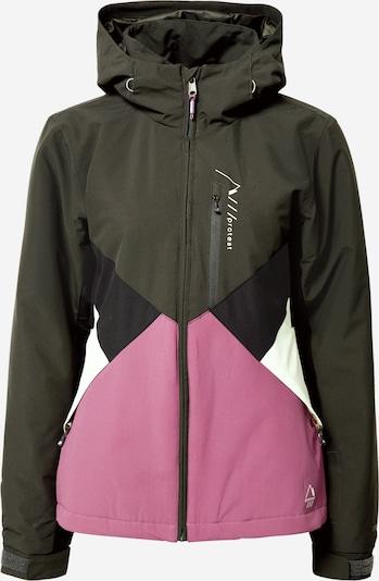 PROTEST Outdoorová bunda 'Kelis' - olivová / růžová / černá / bílá, Produkt