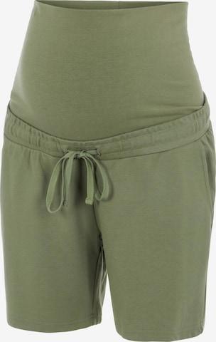 MAMALICIOUS Pants in Green
