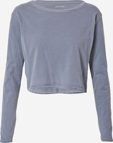 AMERICAN VINTAGE Shirt 'Vegiflower' in Blau