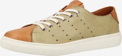 COSMOS COMFORT Sneaker in ecru / cognac, Produktansicht