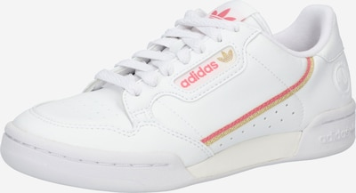 ADIDAS ORIGINALS Sneakers 'CONTINENTAL 80' in Yellow / Pink / White, Item view