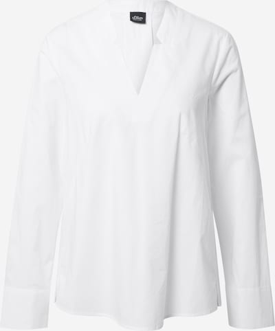 s.Oliver BLACK LABEL Bluse in weiß, Produktansicht