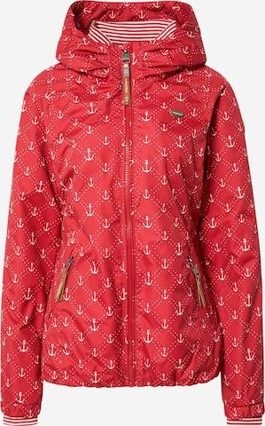 Ragwear Outdoorjacke 'Dizzie Marina' in Rot