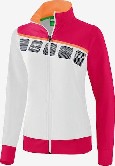 ERIMA Jacke in orange / rot / schwarz / weiß, Produktansicht