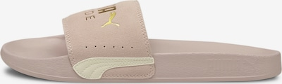 PUMA Beach & Pool Shoes in Gold / Dusky pink, Item view