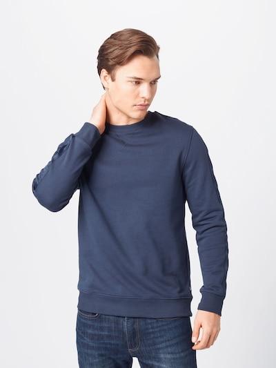 JOOP! Jeans Блузон с качулка 'Stan' в тъмносиньо: Изглед отпред
