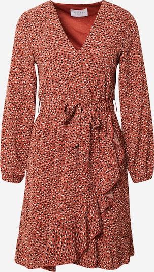 SISTERS POINT Kleid 'NEW GRETO' en pitaya / schwarz / weiß, Vue avec produit