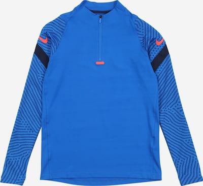NIKE Sportsweatshirt 'Strike' in blau / navy / hellrot, Produktansicht