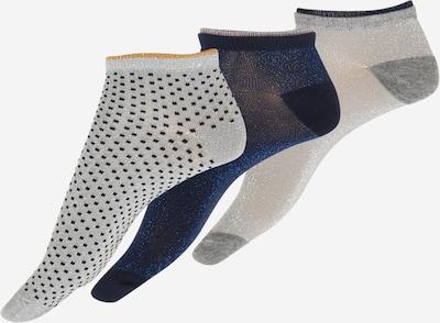 Kojinės 'Dollie' iš BeckSöndergaard, spalva – tamsiai mėlyna / nakties mėlyna / medaus spalva / šviesiai pilka, Prekių apžvalga