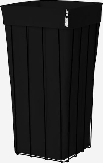 ABOUT YOU Wäschekorb 'The Cage' in schwarz, Produktansicht