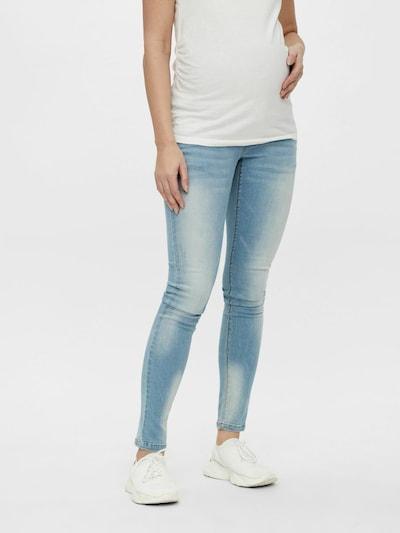 Jeans MAMALICIOUS pe albastru denim, Vizualizare model