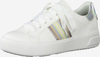 TAMARIS Låg sneaker i blandade färger / vit, Produktvy