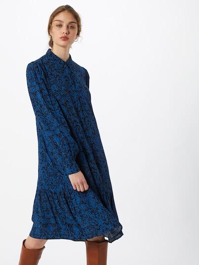 Gestuz Kleid 'Lorali' in blau / schwarz, Modelansicht