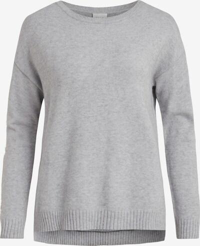 VILA Pullover 'Ril' in hellgrau, Produktansicht