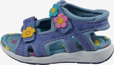 Pio Sandale in blau / mischfarben, Produktansicht