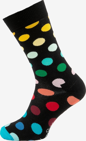 Happy Socks Socken in blau / pink / rot / schwarz, Produktansicht