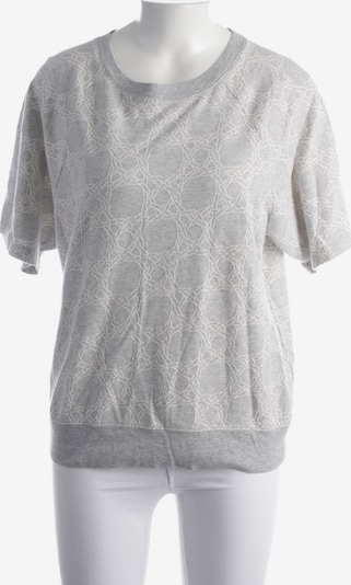 GANT Kurzarmpullover in M in grau / weiß, Produktansicht