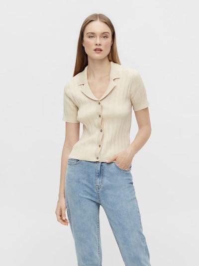 OBJECT Knit cardigan 'OBJAMIRA 114' in Cream, View model
