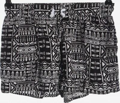 TWINTIP Hot Pants in S in schwarz / weiß, Produktansicht