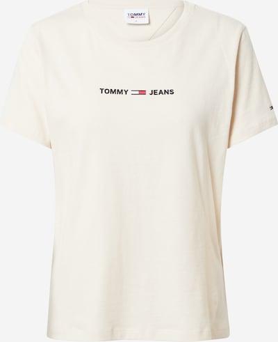 Tricou Tommy Jeans pe bej / roșu / negru / alb, Vizualizare produs