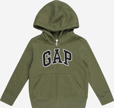 GAP Zip-Up Hoodie in Navy / Olive / White, Item view